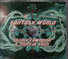 Charly Lownoise&Mental Theo-Fantasy World cd Maxi single eurodance holland