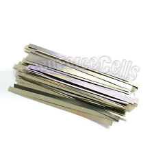 50 pcs 6.5cm Solder Tab For Sub C AAA AA 14500 18650 Battery Cell