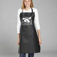 DOG LOVER APRONS for Stylist Groomer Barber or At Home Use - Black Waterproof !