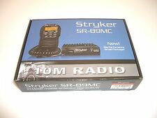 STRYKER SR-89MC AM FM 10m COMPACT AMATEUR RADIO ** EXPANDED TO 400 CHANNELS **