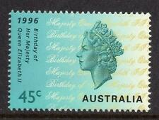Australia MNH 1996 The 70th Anniversary of the Birth of Queen Elizabeth II