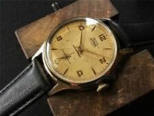 Vintage Smiths Astral 15 jewel England serviced & timed 1962 patina dial
