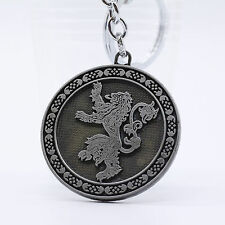 New Silver Game of Thrones Lannister of Casterly Rock Metal Keychain #1