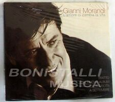 GIANNI MORANDI - L'AMORE CI CAMBIA LA VITA - CD Single Sigillato