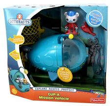 Disney Jr Fisher-Price Octonauts Gup A Mission Vehicle Barnacles MIB