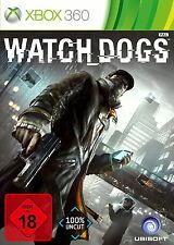 Microsoft Xbox 360 Spiel Watch Dogs USK 18