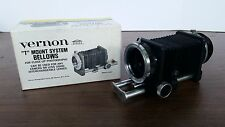 Vintage Vernon Focusing Bellows With Slide Copier T-Mount 13cm Made in Japan