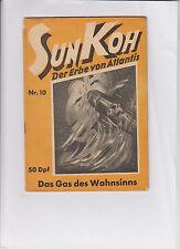 Sun Koh 6 verschiedene Hefte Serie ab 1949 u-p. Zustand (1-) - (2) ab Nr. 10