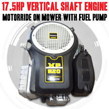 17.5HP VERTICAL SHAFT ENGINE, MOTOR, RIDE ON MOWER NAME BRAND WITH FUEL PUMP