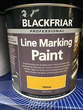 Line Marking Paint 2.5 Litre In Yellow -Free delivery Uk