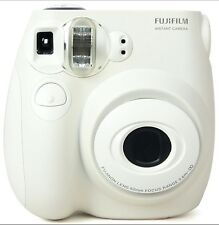 Fujifilm INSTAX MINI 7s Instant Camera (White) + Polaroid Film Pack
