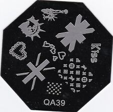 Stamping Device Nail Art Plate QA39