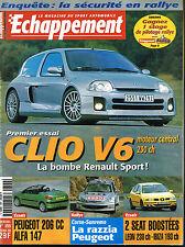 revue automobile: Echappement: N°399 novembre 2000