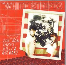 "THE WHITE STRIPES ""The Big Tree killed my Baby"" 2 Track 7 Inch VINYL SFTRI RARE"