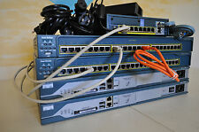 Cisco Complete CCNA & CCNP Security home lab kit w / ASA5505 Firewall