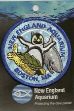 SOUVENIR PATCH BOSTON - NEW ENGLAND AQUARIUM