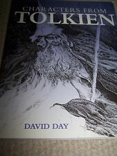 Characters From Tolkien Book by David Day