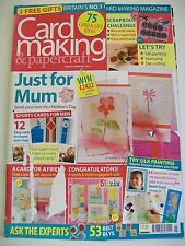 Magazine. Card Making & Papercraft. Issue 23. February 2006. Just For Mum.