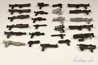 Little Arms - 25 Waffen für LEGO Star Wars Figuren / Blaster, Rifle NEUWARE