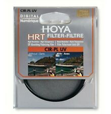 Genuine Hoya 77mm Circular Polarizer and  HRT UV filter  New and sealed