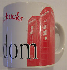 Starbucks United Kingdom 1999 City Mug Collector Series Phone Booth England Nice