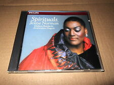 JESSYE NORMAN/SPIRITUALS/CD PHILIPS FRANCE 1979 PDO
