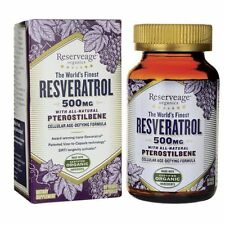 Reserveage Organics - Resveratrol with Pterostilbene 500mg - 60ct
