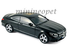 NOREV 183482 2014 14 MERCEDES BENZ S CLASS COUPE 1/18 DIECAST MODEL CAR BLACK