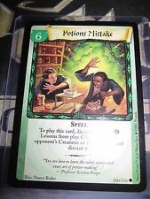 HARRY POTTER TRADING CARD GAME TCG BASIC POTIONS MISTAKE 100/116 COM ENG MINT