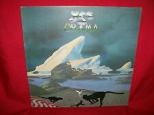YES Drama LP 1980 ITALY EX Progressive Rock Roger Dean Cover