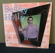 "Buddy Holly ""Legend"" 2x LP OOP Sealed 1985 and the Crickets"