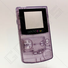 Nouveau clair (atomic violet) nintendo game boy color gbc case/shell/housing & outils