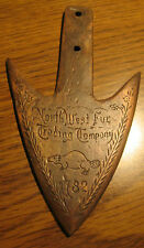 1782 North West Fur Company Fur Trade Spear Point Bronze/Brass Finish