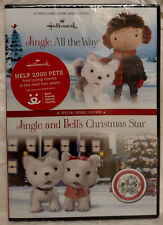 Hallmark: Jingle All the Way + Jingle & Bells Christmas Star DVD - New!