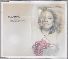 Madonna - American Pie **England 3 Track CD Single**VG Cond.