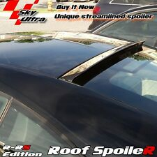 UNpainted R type Rear Roof Spoiler Wing For Honda Prelude 4th 2D 1992-1996❁
