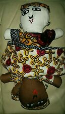Topsy turvy poupée primitive americana style chiffon poupée de chiffon collectionneurs (réduit)