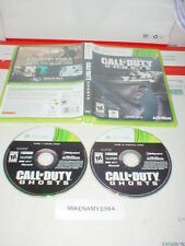 CALL OF DUTY: GHOSTS game in case for Microsoft XBOX 360