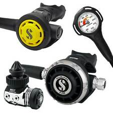 EROGATORE SCUBAPRO MK17 G260 DIN OCTOPUS MANOMETRO DIVE REGULATOR OCTOPUS GAUGE