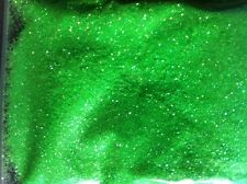 25g Ultra Fine Glitter .008 Neon Green Cosmetic grade nail body crafts,
