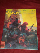Dragon Magazine #112 August 1986 AD&D Dinosaurs Rom Gencon Star Frontiers