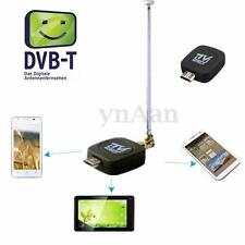 Portable Micro USB DVB-T Digital TV Tuner Récepteur Antenne Pr Android Phone PC