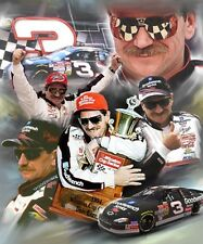 Dale Earnhardt SR : giclee print on canvas poster painting for autograph B-1833