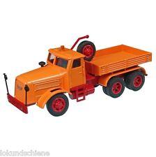 KAELBLE KDV22 Z8T historische Schwerlast-Zugmaschine,   NZG 1:50#452 Orange