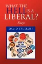 What The Hell Is A Liberal?: Essays