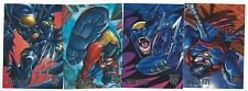 Amalgam Comics Four Card Dark Claw/Spider-Boy Preview Set Fleer/Skybox1996 Good