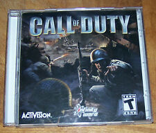 Activision - CALL OF DUTY  -  2 Discs - Rated T - Exc. Cond!
