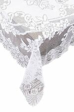 Ritz Lace Round Tablecloth, 70-Inch, Ivory , New, Free Shipping