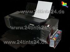 CISS SISTEMA TUBO Canon Pixma Pro 9000 pro9000 Mark II 2 CLI 8 R G INCHIOSTRO INK