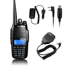 TYT TH-UV8000D Dual band Two-Way Radio + BF-S112 Mic + USB Cable + Car Charger